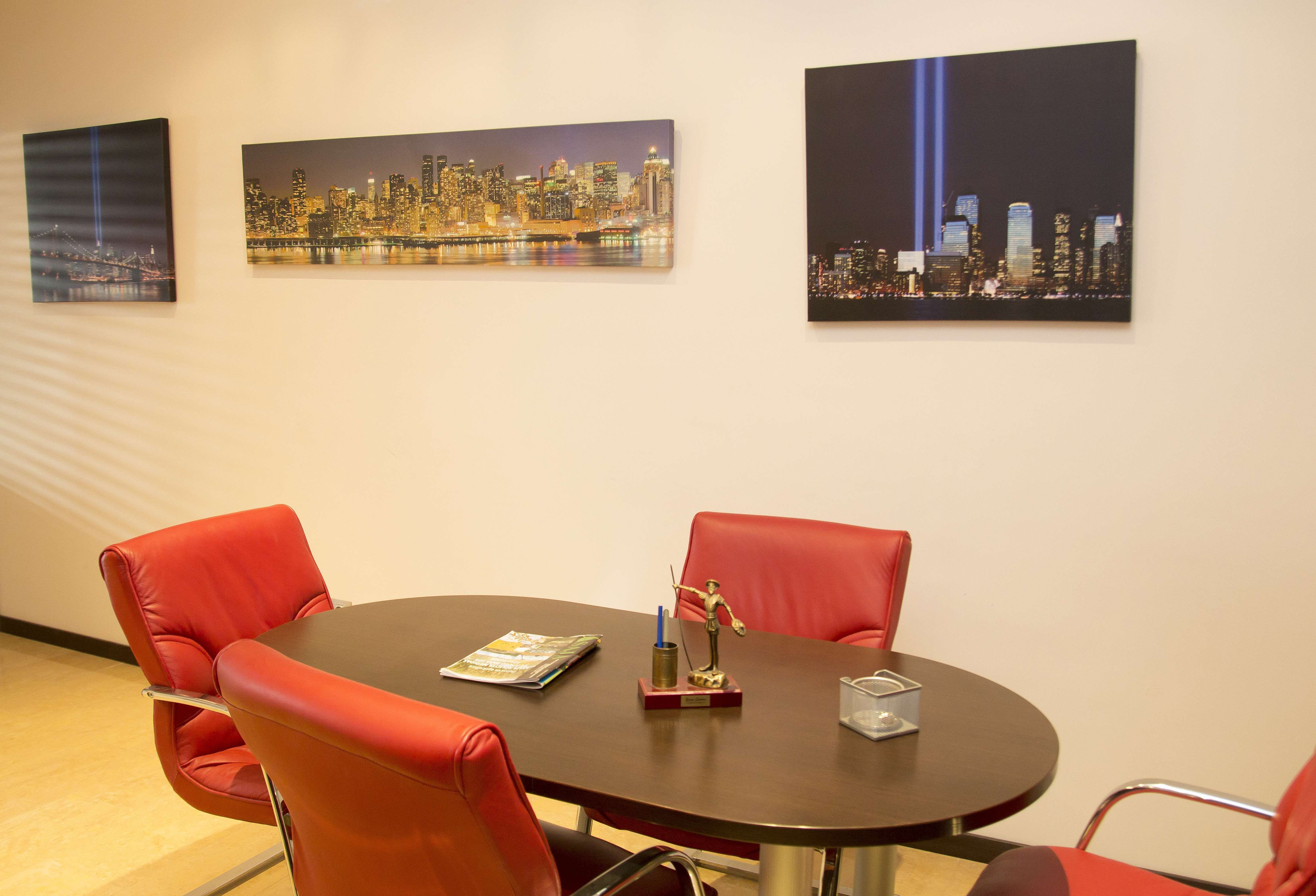 Sala de reuniones de nuestra inmobiliaria