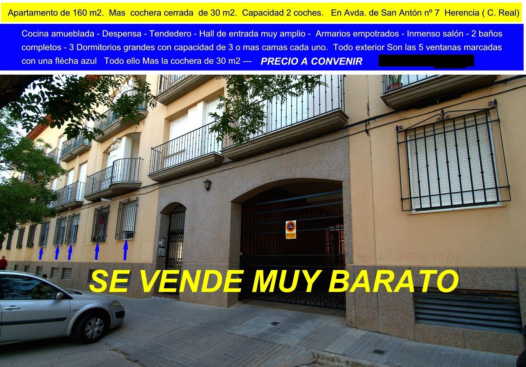 Foto 5 de Inmobiliarias en Herencia | ANTONIO ARAGONÉS DÍAZ PAVÓN