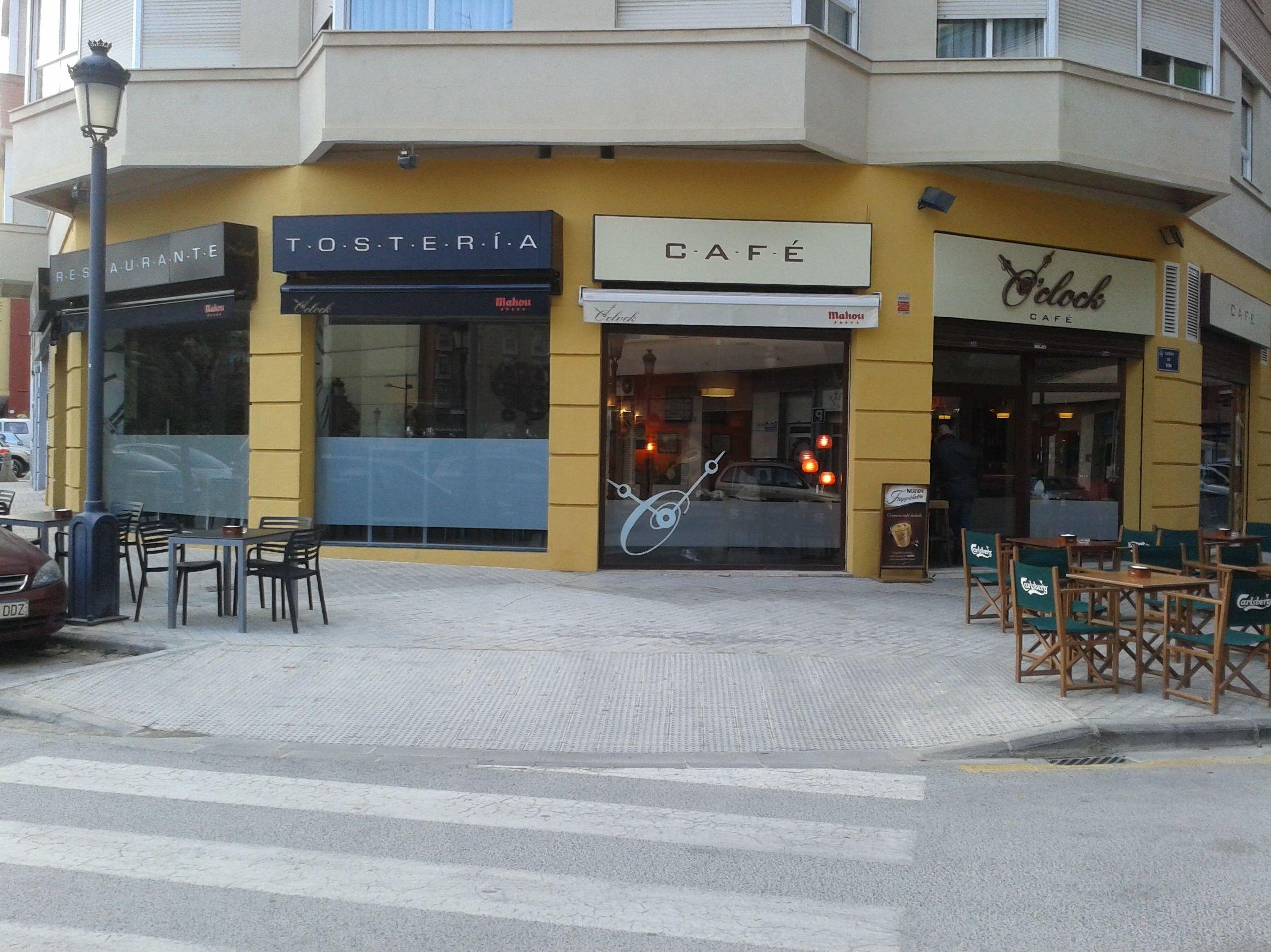 Restaurante Tostería O'Clock en Valencia