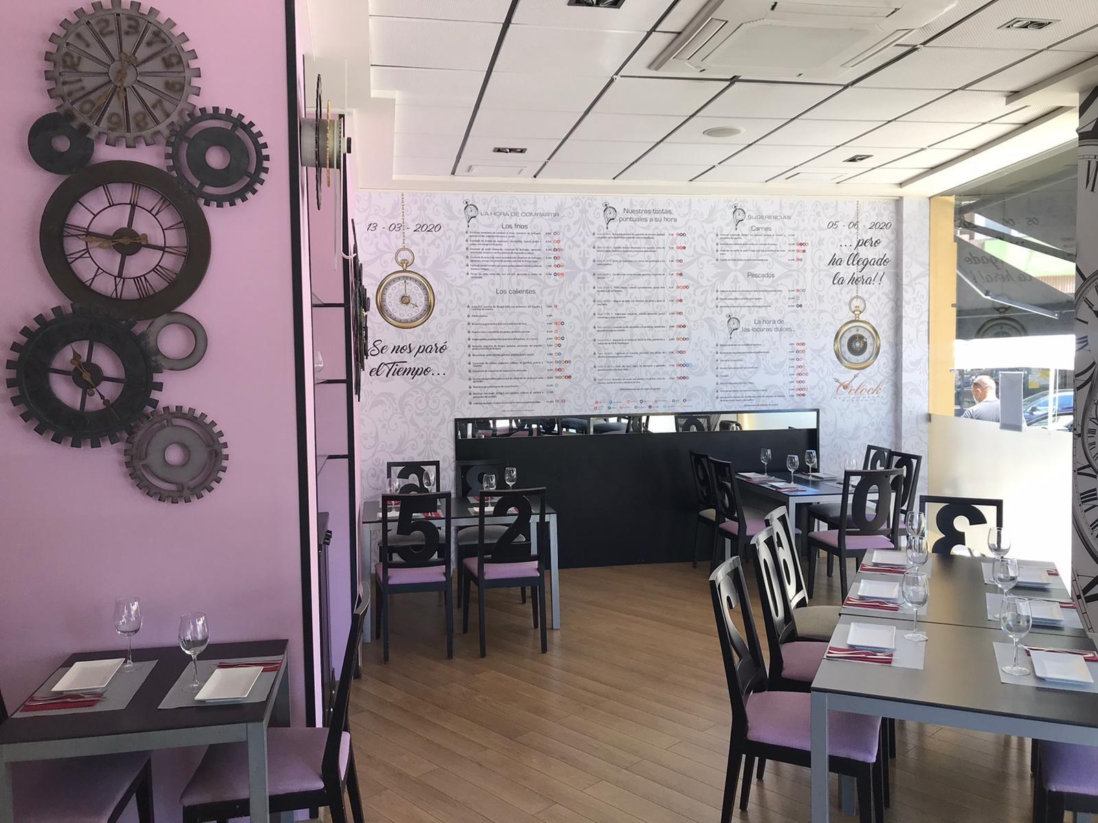 Foto 3 de Restaurante en Valencia | Cafetería Tosteria O´Clock