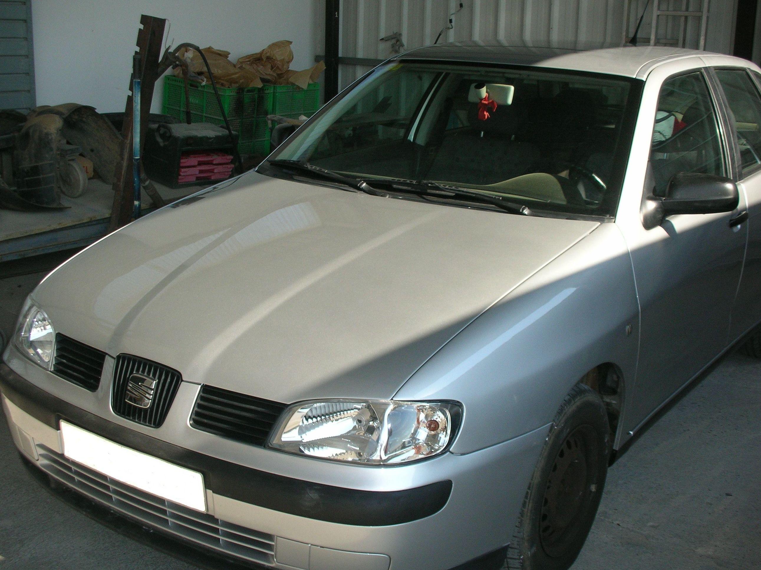 Vehicle després de reparar,