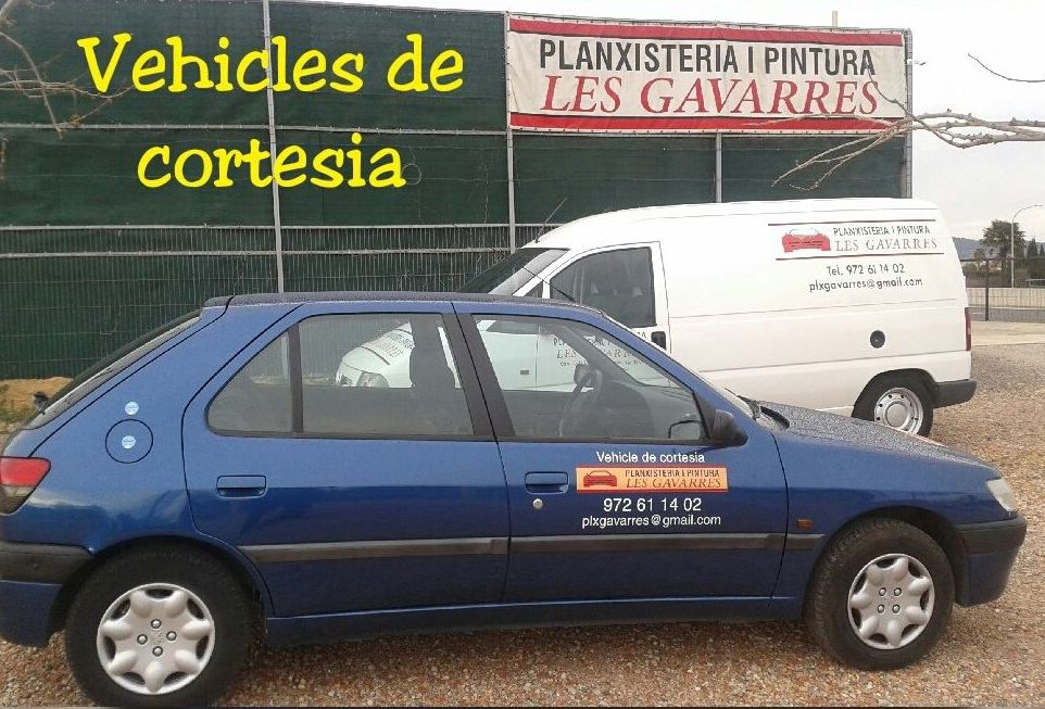 Disposem de vehícles de cortesia a cost 0 €,