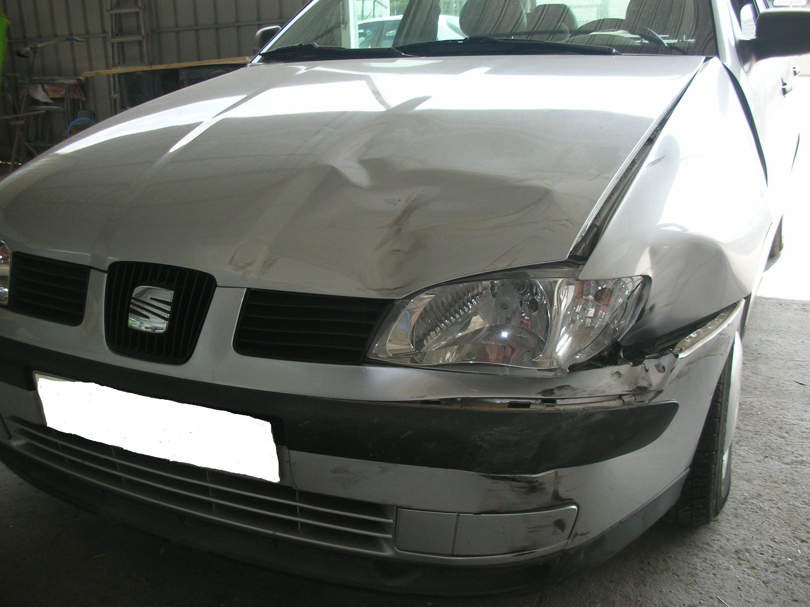 Vehicle abans de reparar.