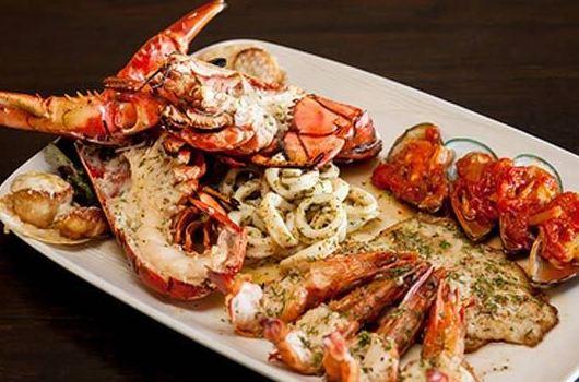 Parrillada de pescado y mariscos: CARTA EL SEVILLANO de Restaurante Sevillano