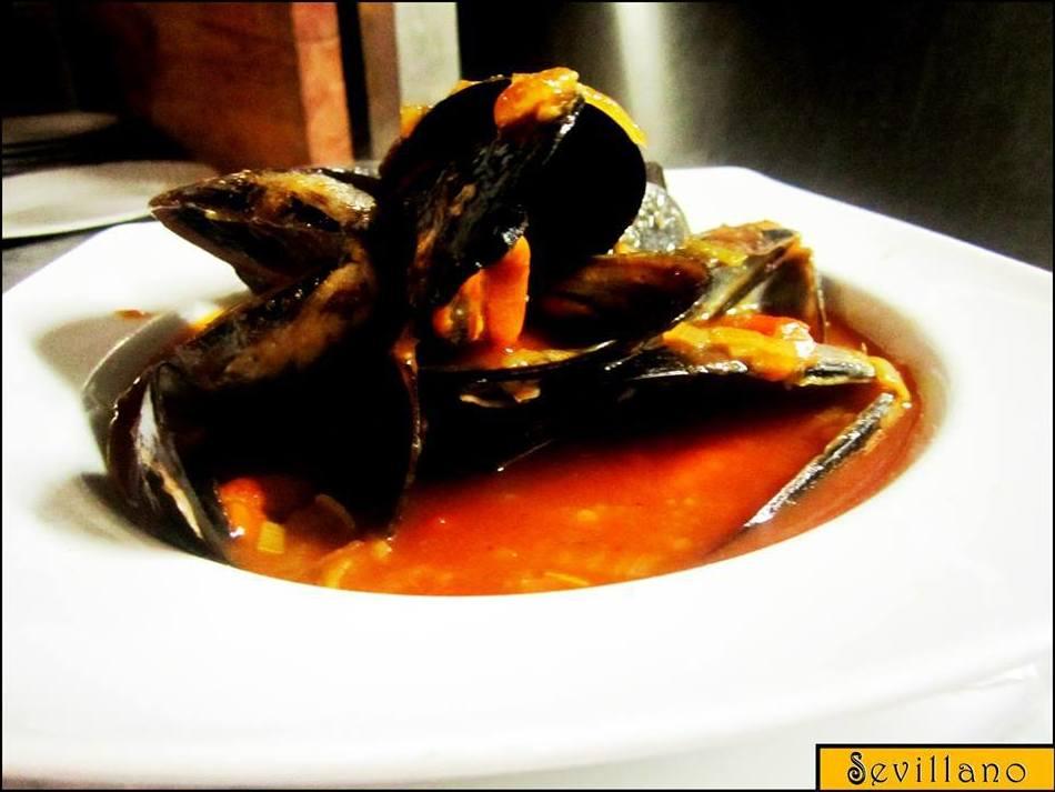 Mejillones a la marinera: CARTA EL SEVILLANO de Restaurante Rincón del Sevillano