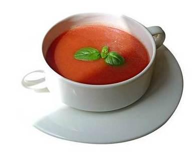 Sopa de Tomate: CARTA EL SEVILLANO de Restaurante Sevillano