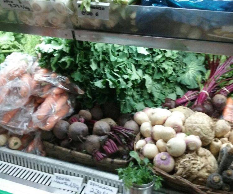 Verduras ecológicas de temporada en A Coruña