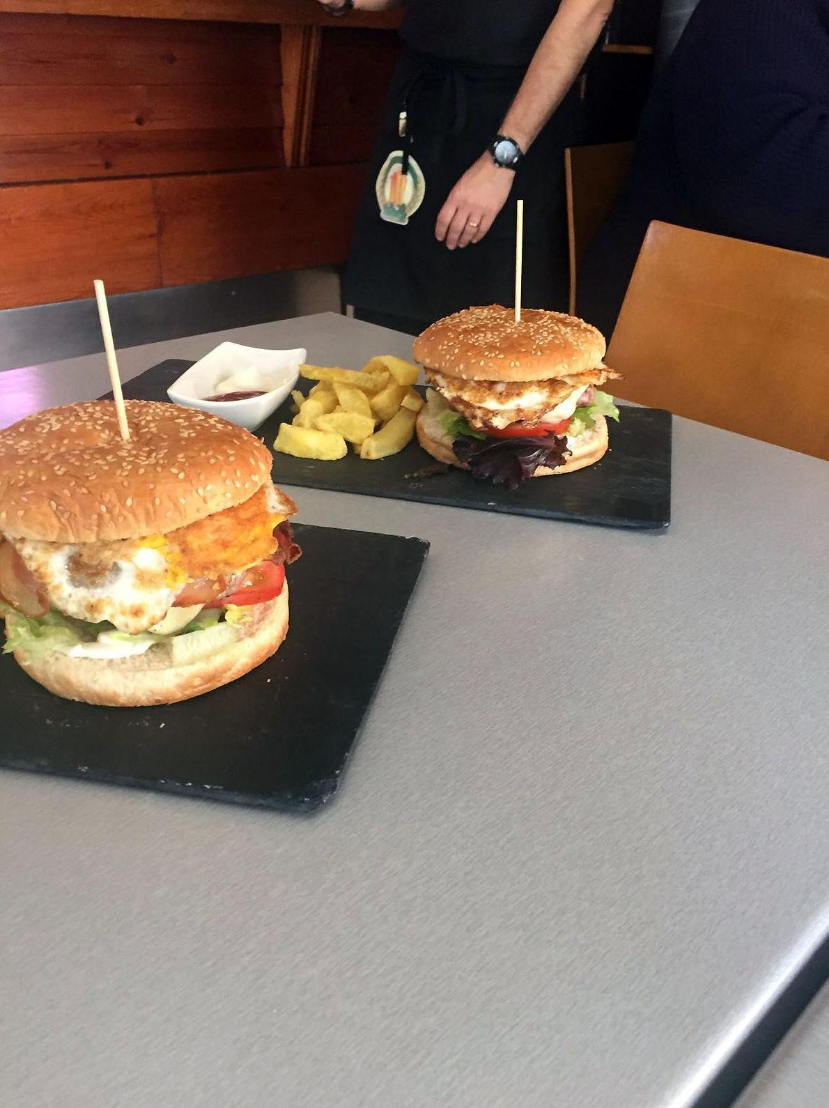 Excelentes hamburguesas caseras