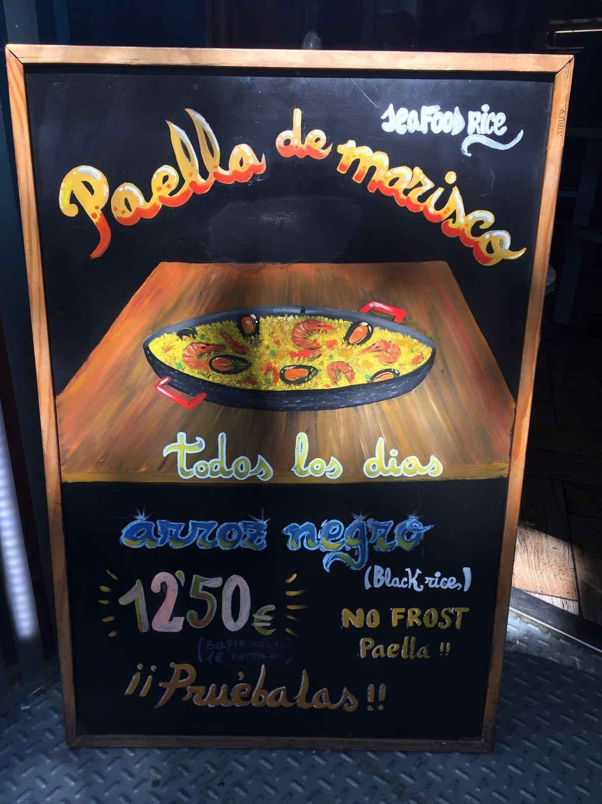 Paellas y buenos arroces