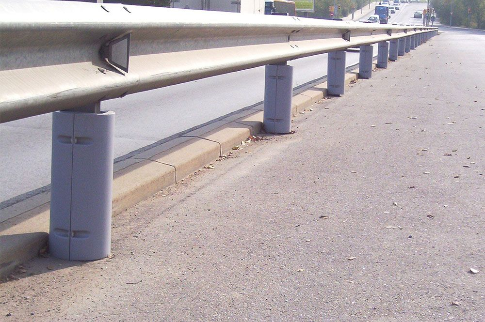 Protectores viales para motoristas en Castellar del Vallès