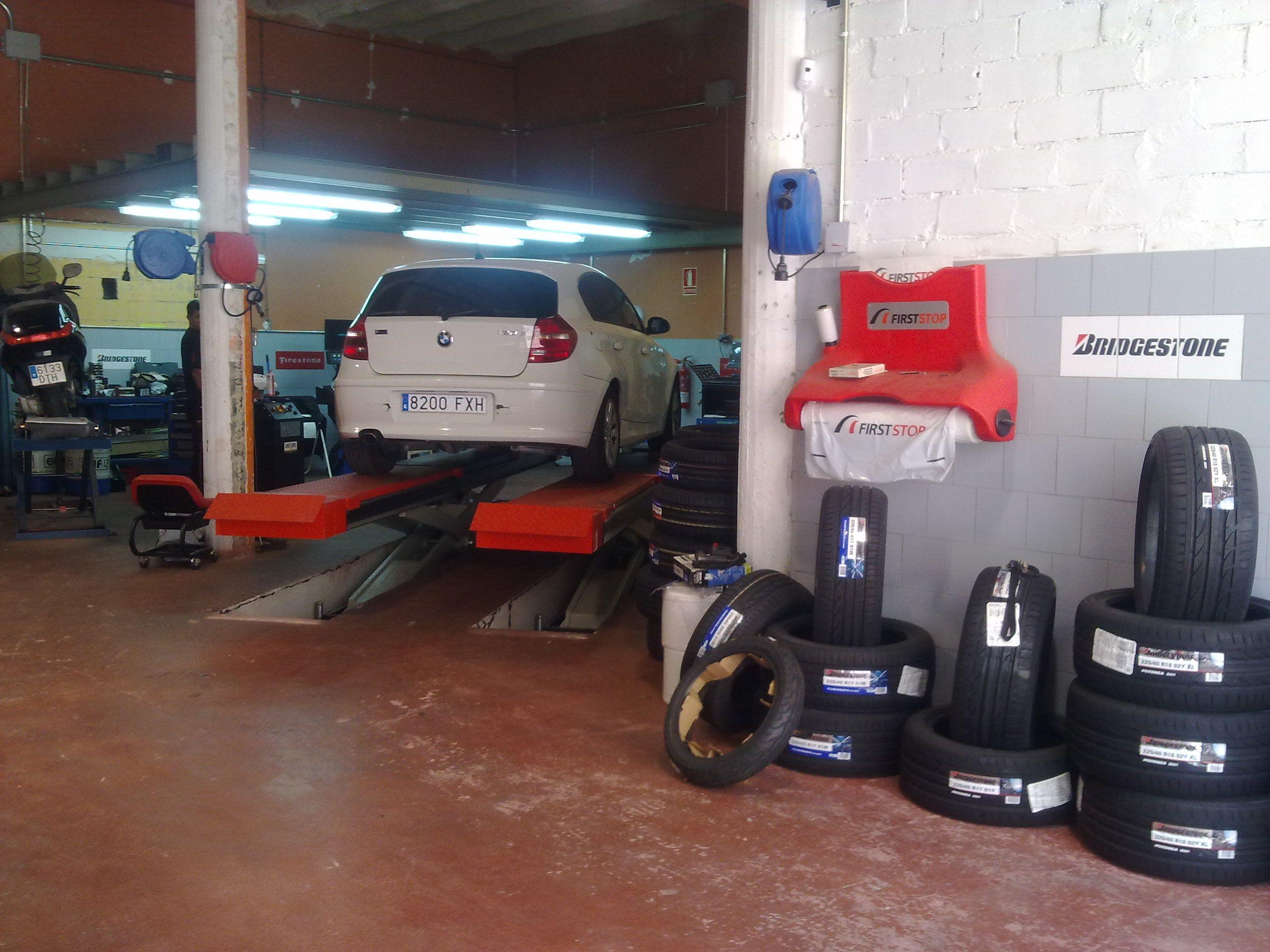 Reparación de neumáticos en El Masnou
