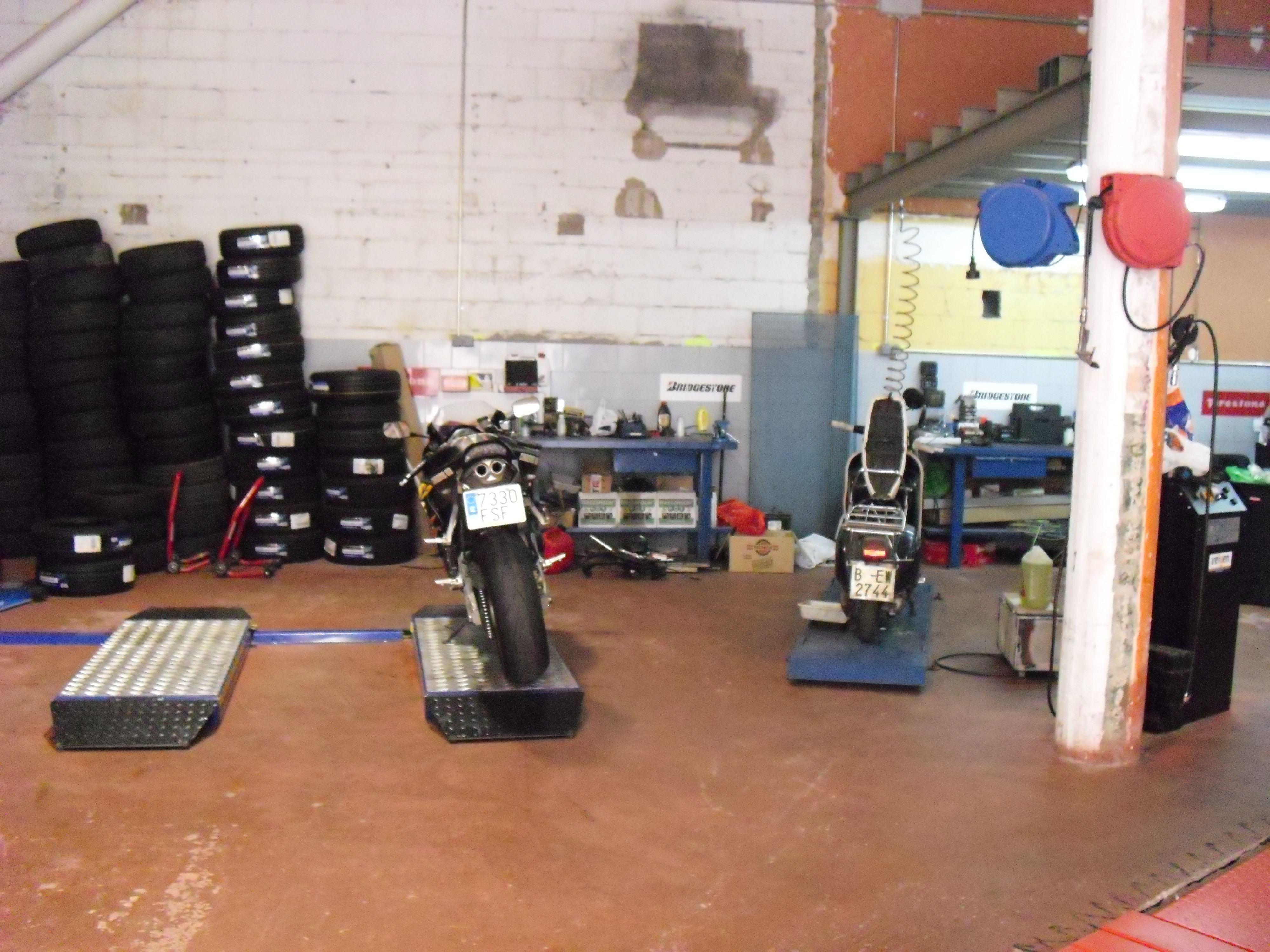 Taller para la reparación de automóviles en El Masnou