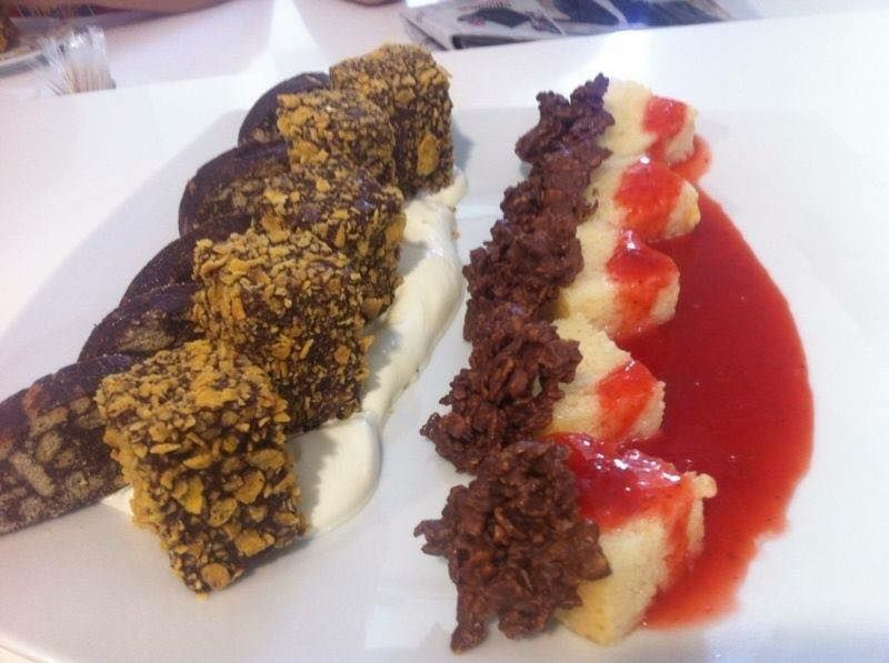 Restaurante con postres caseros en Badajoz