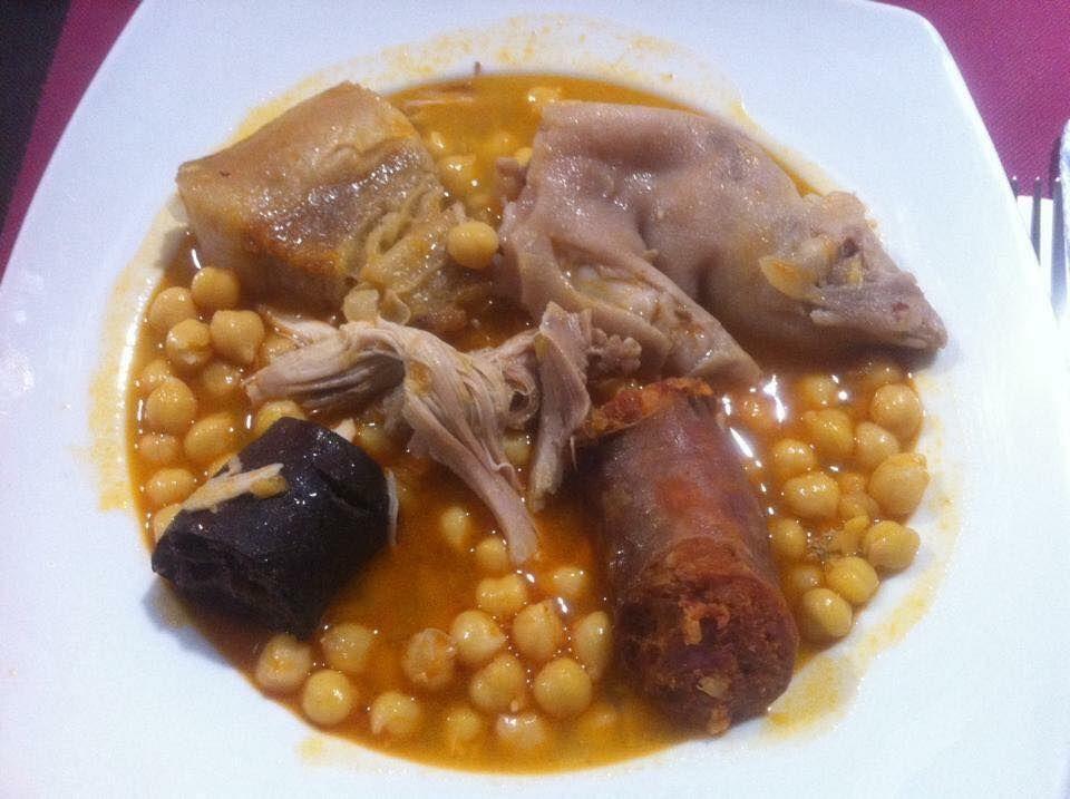 Cocina tradicional en Badajoz