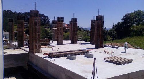 Trabajos de edificación