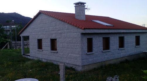 Trabajos de construcción en Pontevedra