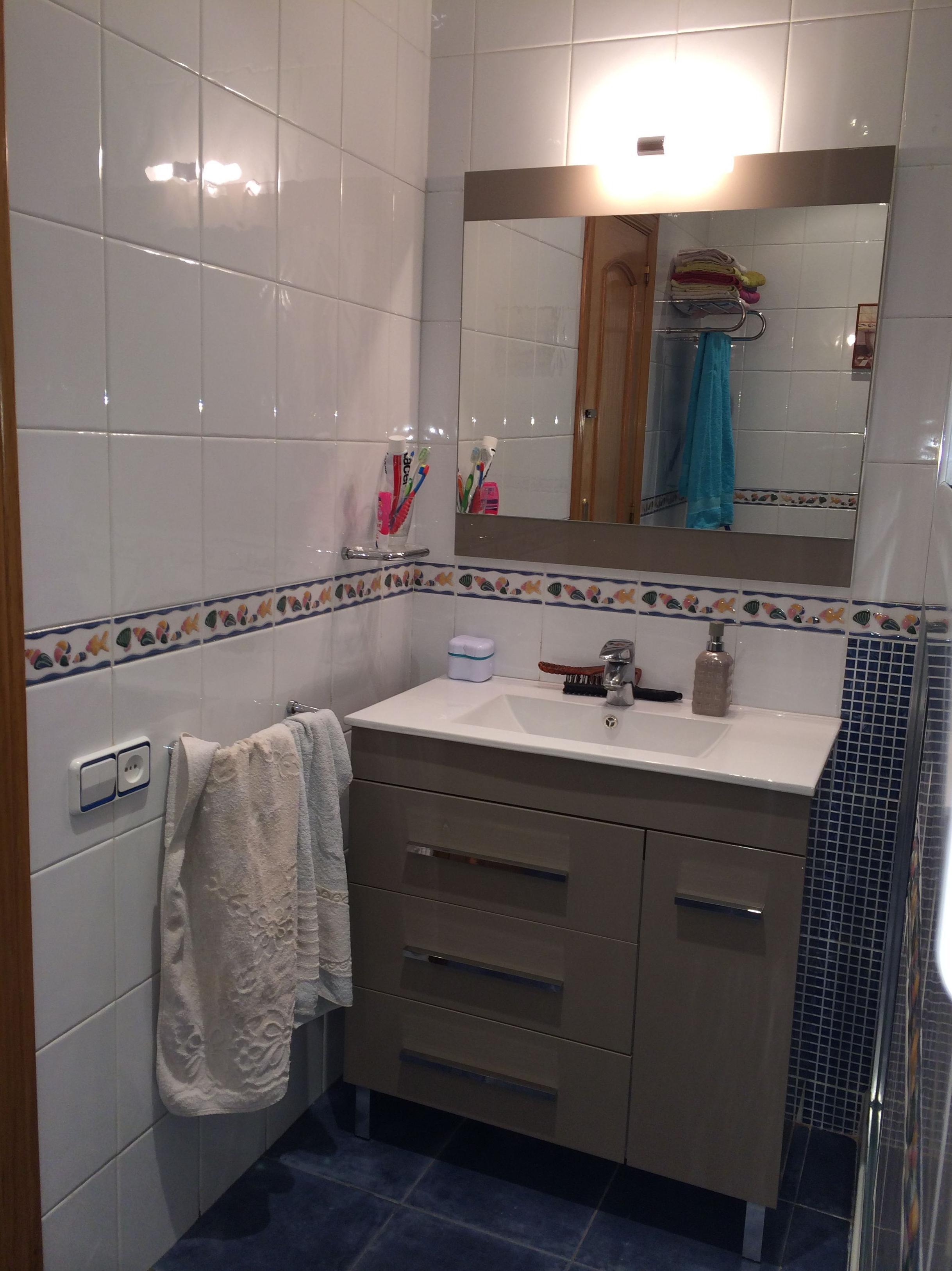 Cambio de bañera por plato de ducha \u002D mueble de baño Torvisco modelo Niger