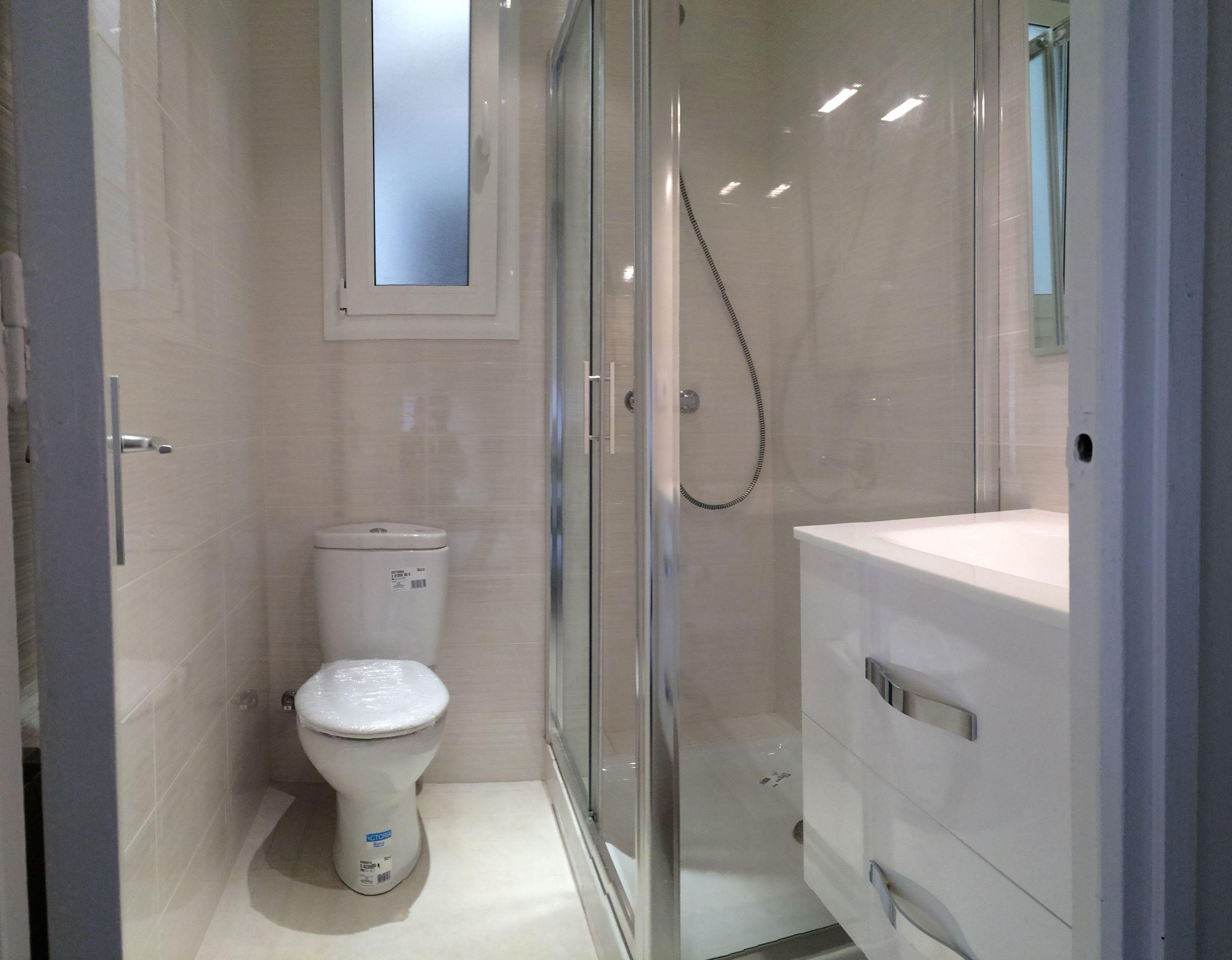 Reforma de baño V (C/Major de Sarrià)