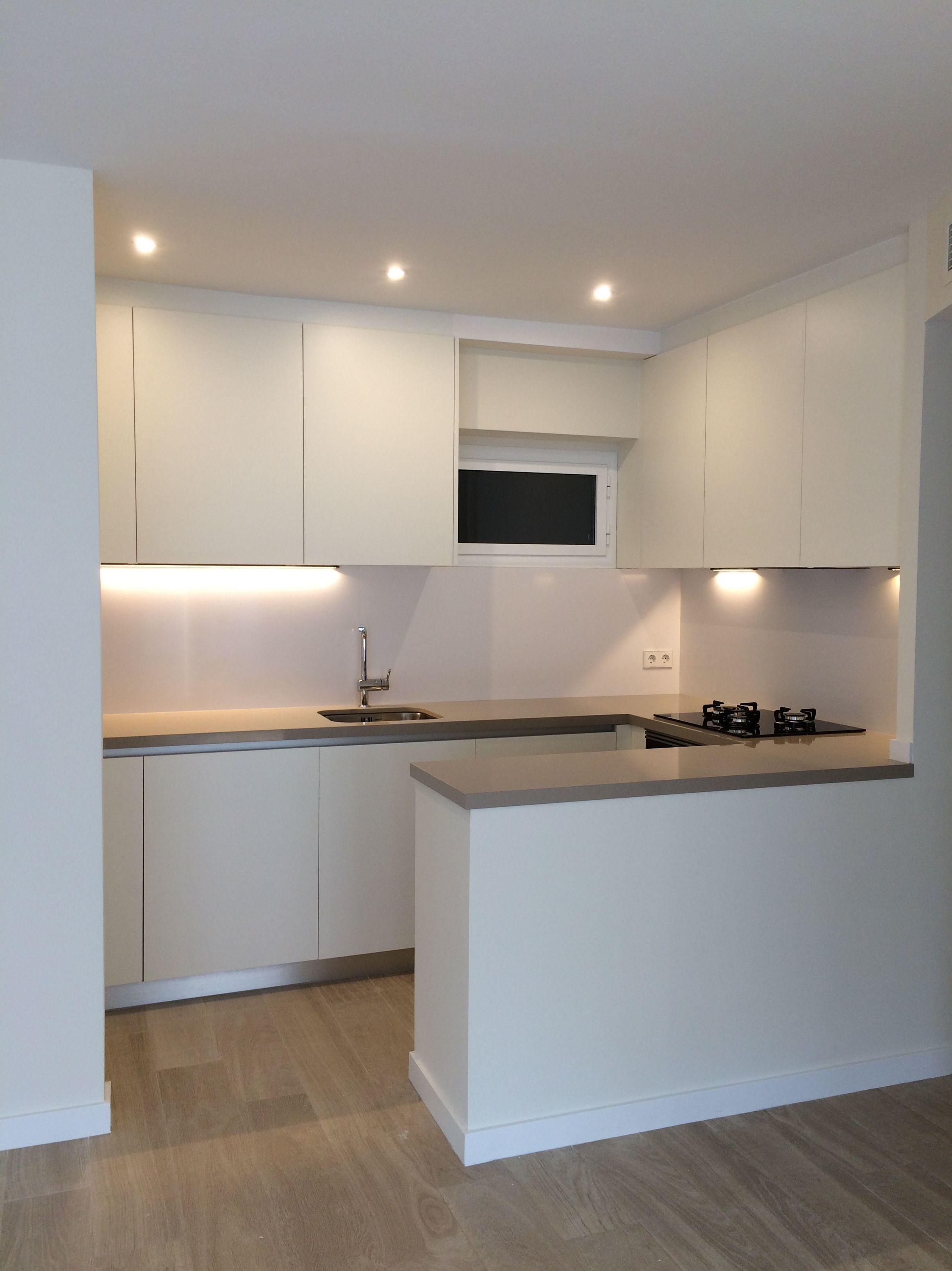 Reforma de cocina y sal n comedor servicios y productos de instal lacions davelor - Salon comedor cocina ...