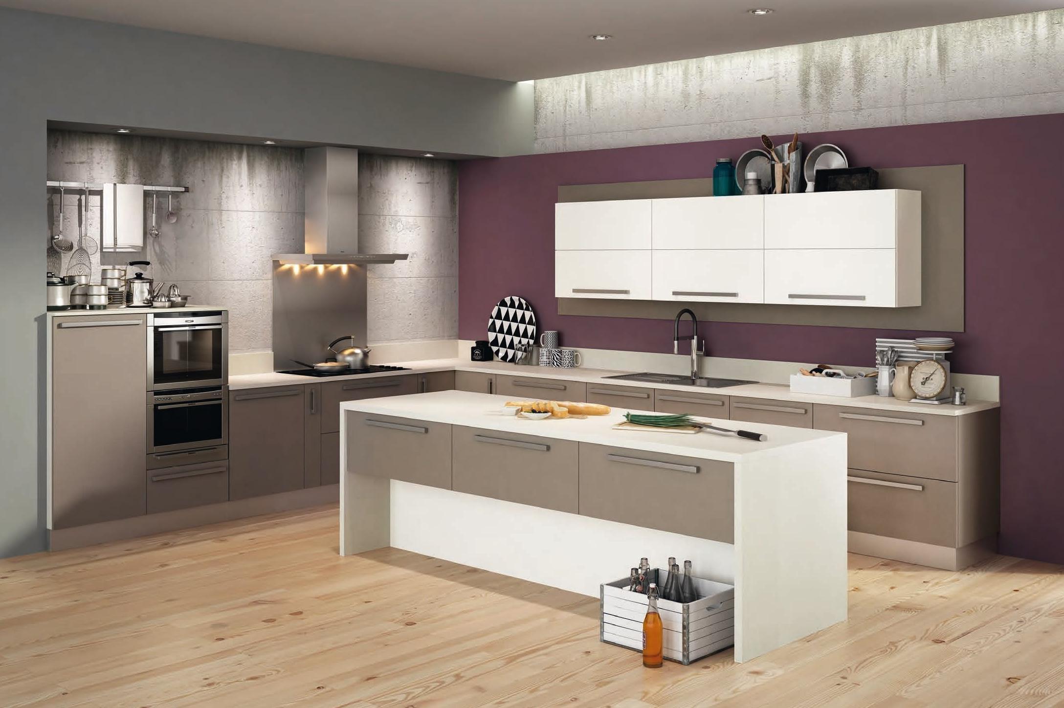 Cocina blanco servicios y productos de instal lacions davelor - Encimeras alvic ...