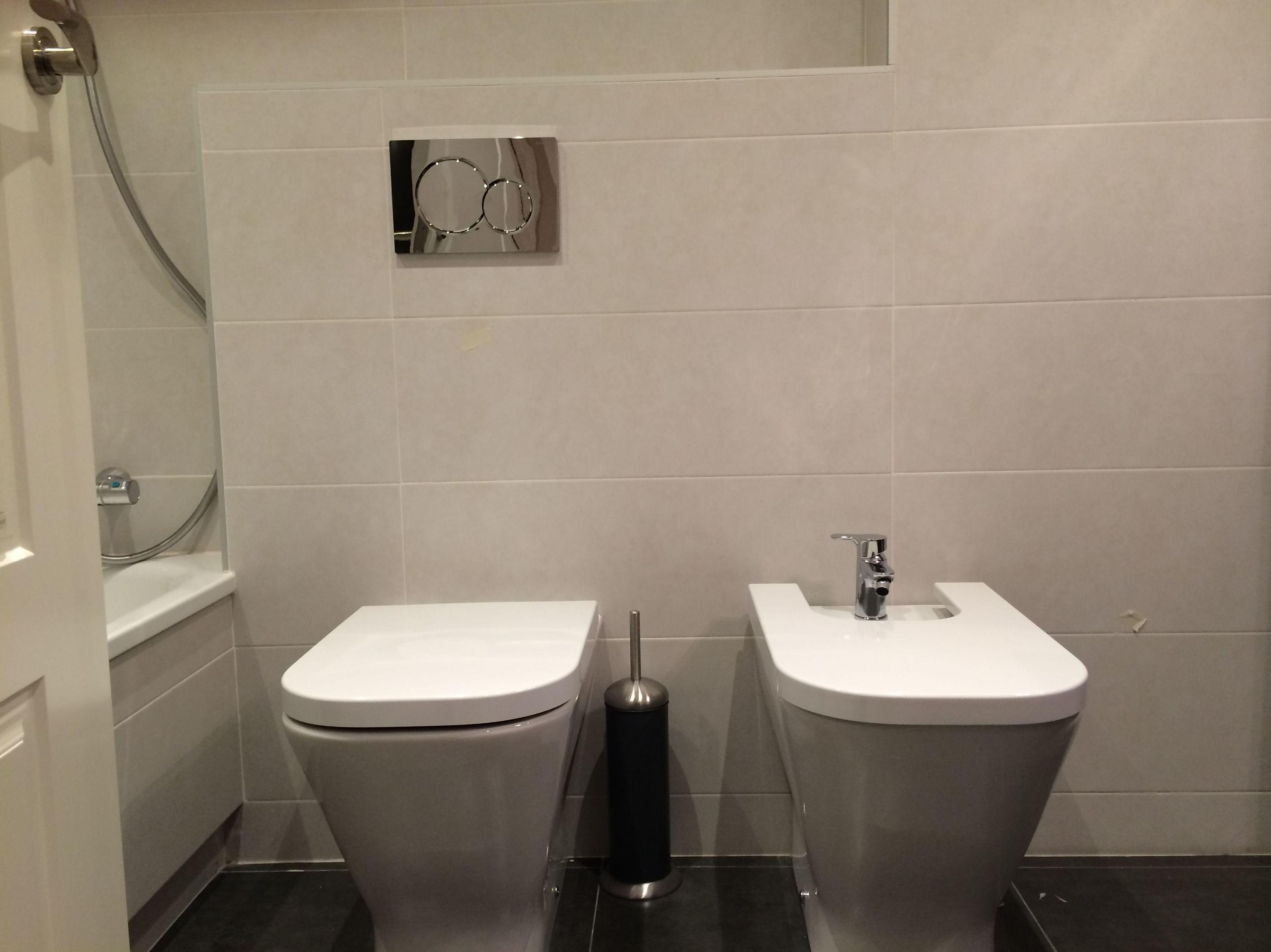 Reforma integral de calidad vivienda \u002D Baño sanitarios III (C/Felip II)
