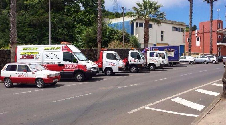 Foto 25 de Grúas para vehículos en El Sauzal | Auto Grúas Jose