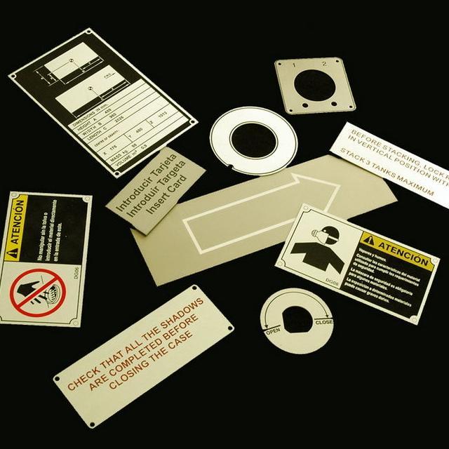 Placas de indicación, señalización y técnicas de Novoplac