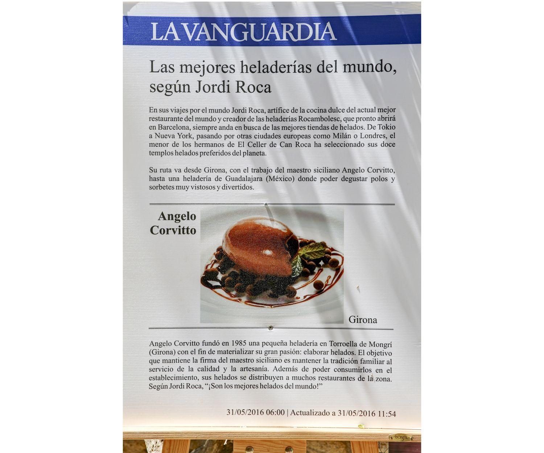 Las mejores heladerías del mundo según Jordi Roca