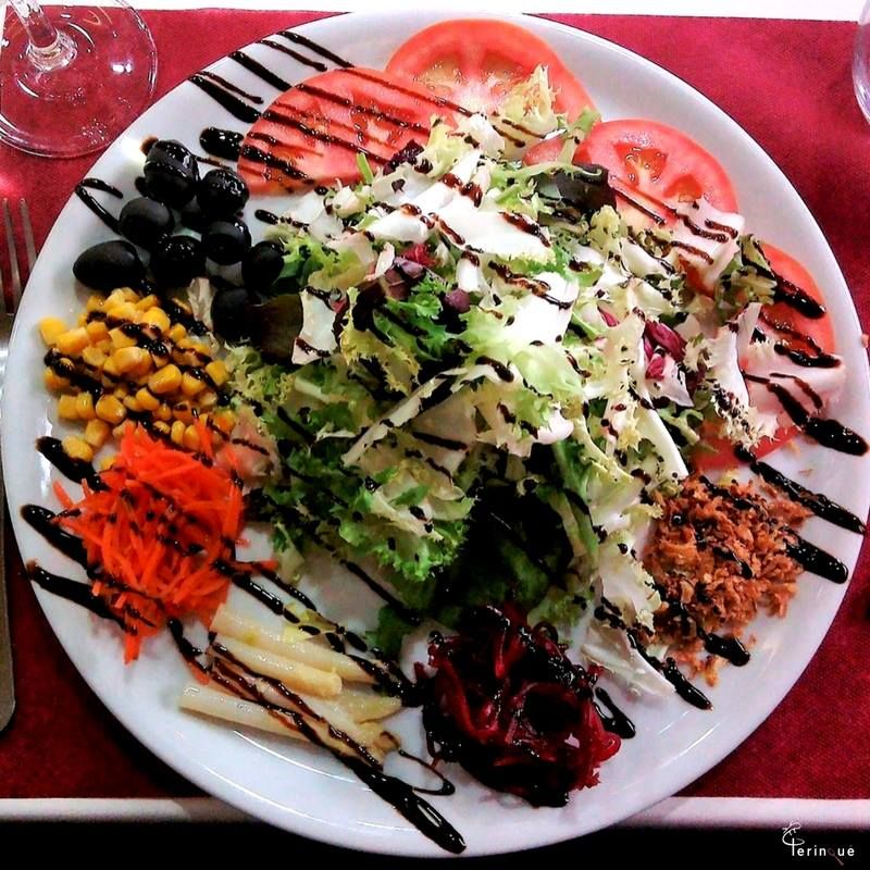 Ensaladas: ¿Qué ofrecemos? de Restaurante Perinqué