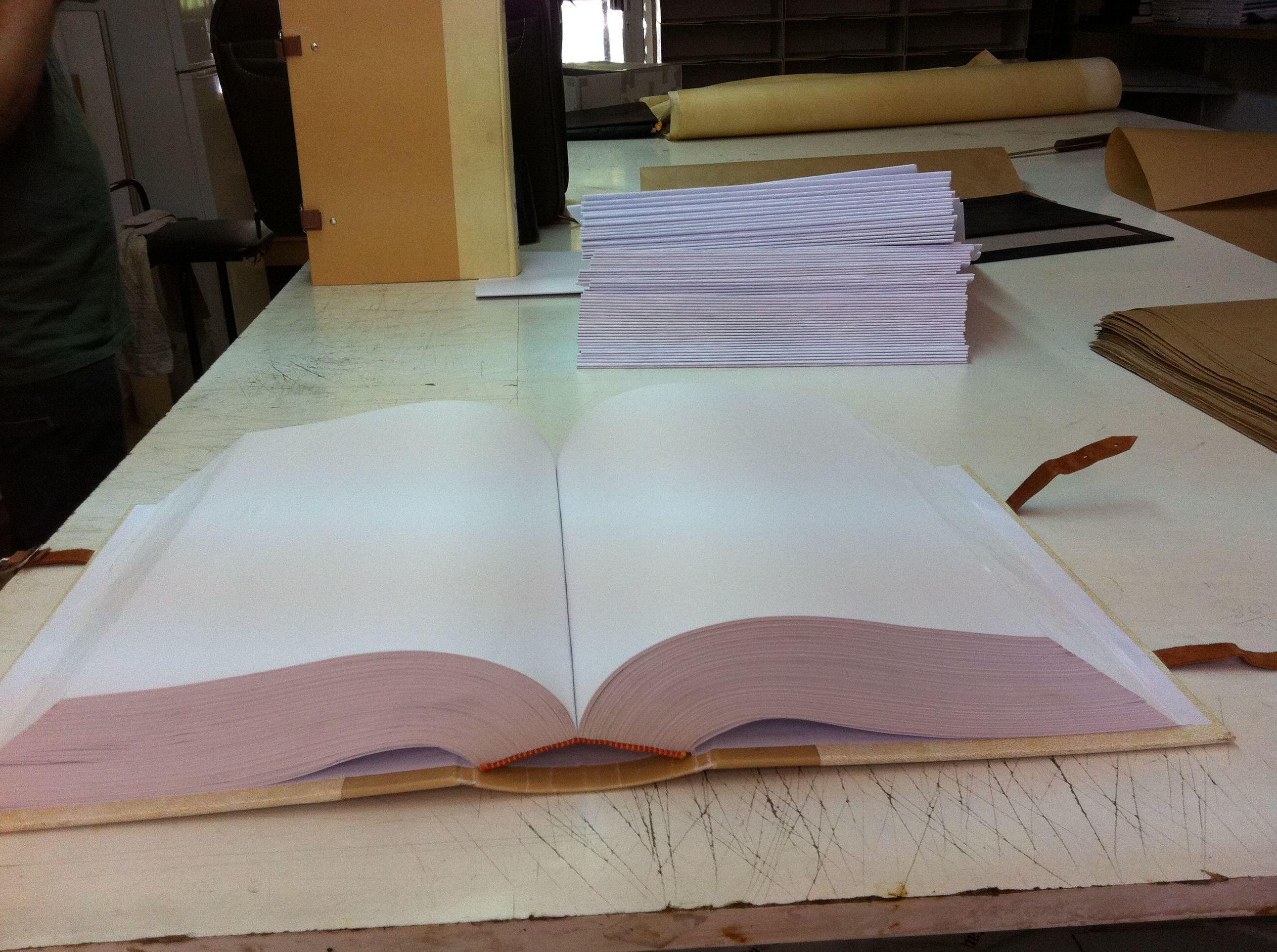Encuaderanción protocolo y libro de registros generales