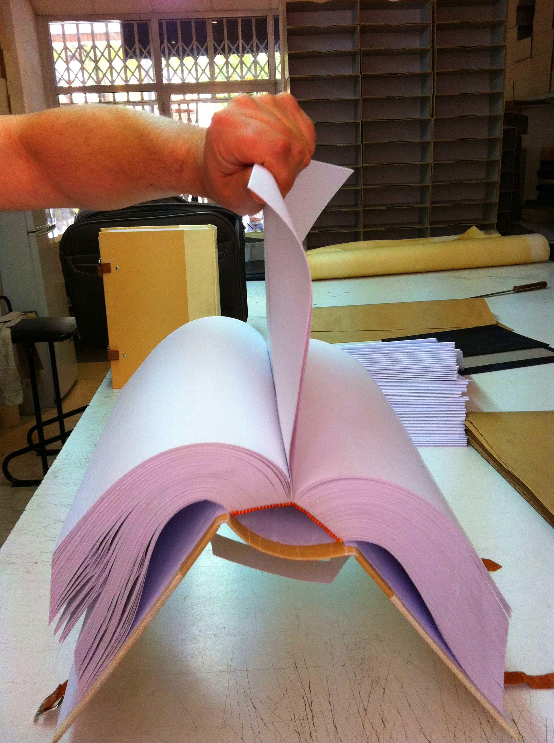 Encuadernación de protocolos y libros de registros generales - Encuadernaciones del Sureste Murcia