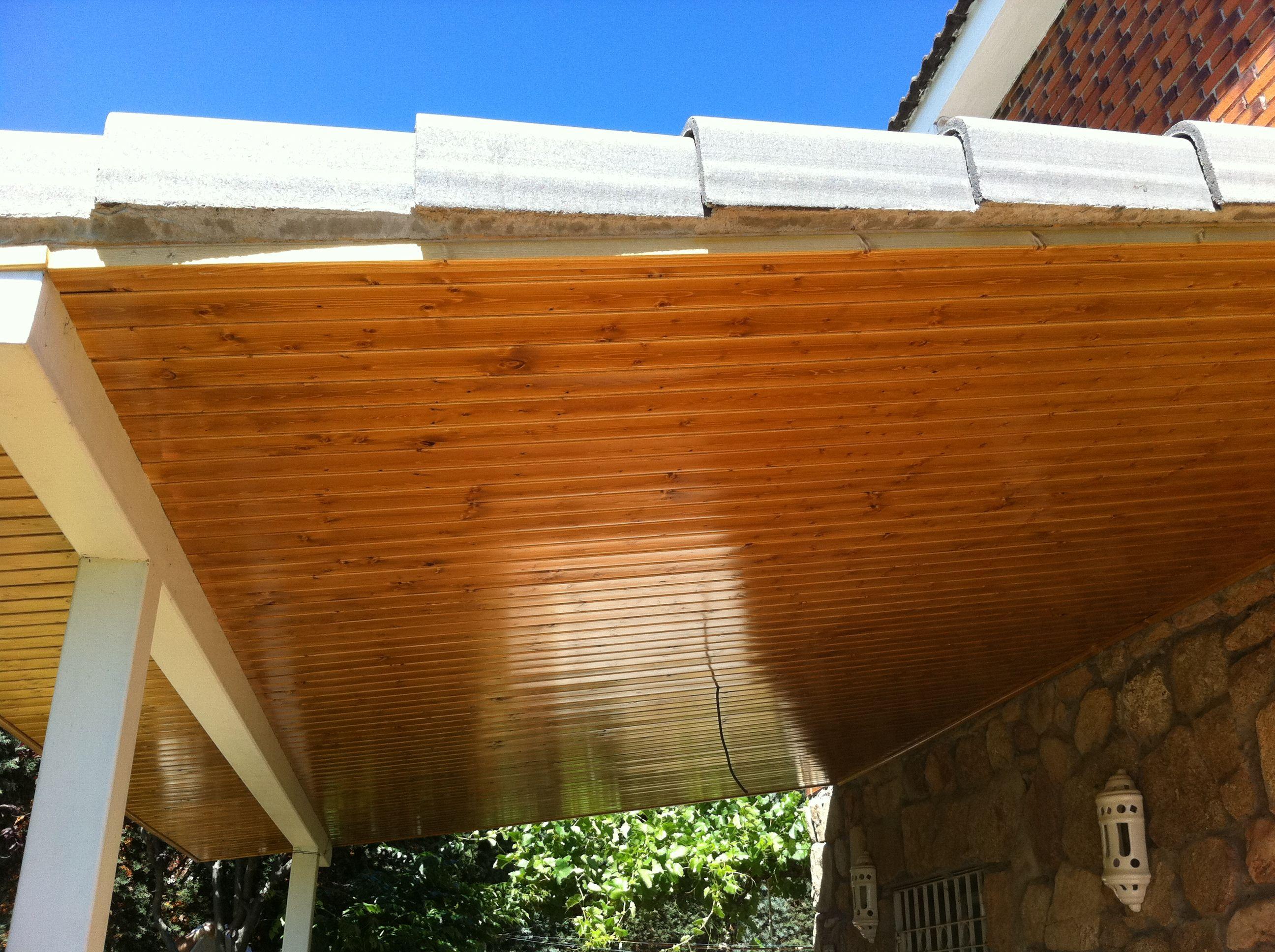 Porche de madera