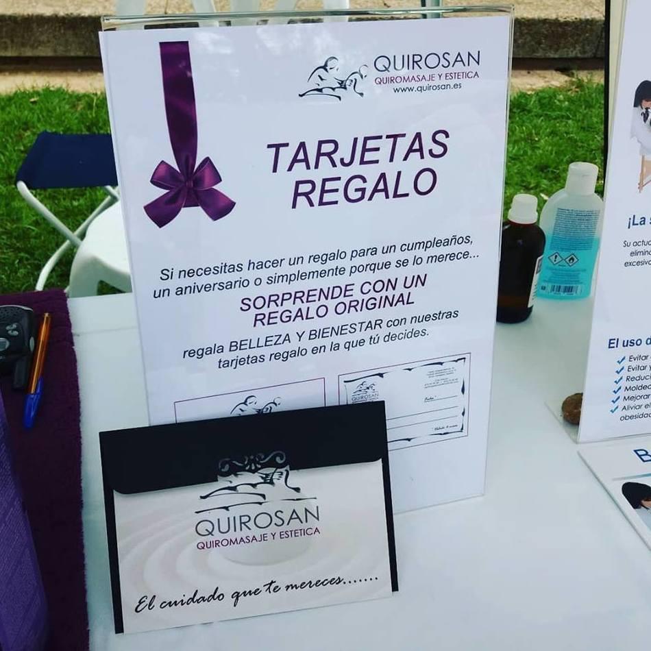 Tarjeta Regalo: Servicios de Quirosan