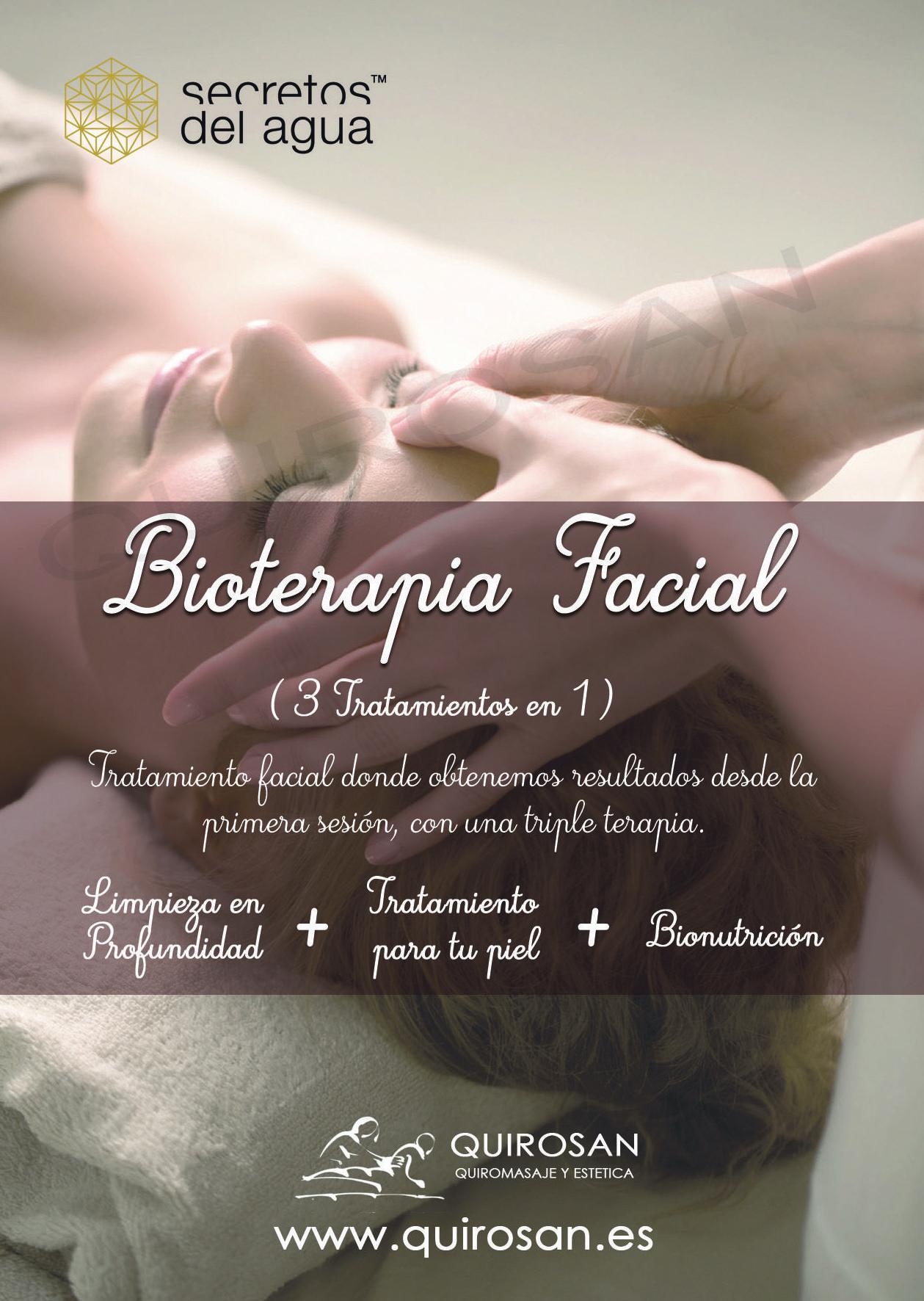 Bioterapia Facial Activa: Servicios de Quirosan