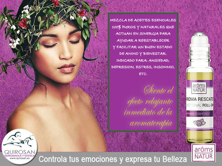 Aroma RESCUE Roll-On: Servicios de Quirosan