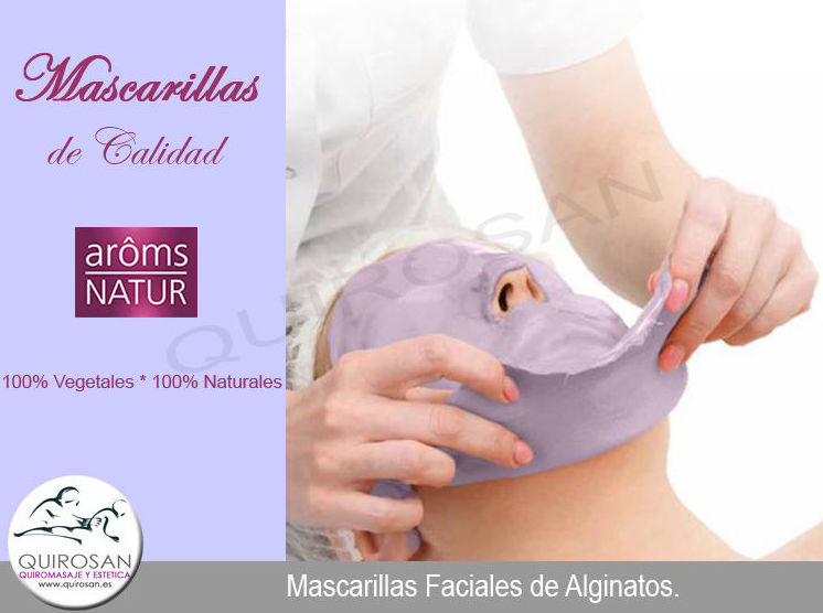 MASCARILLA FACIAL DE ALGINATOS