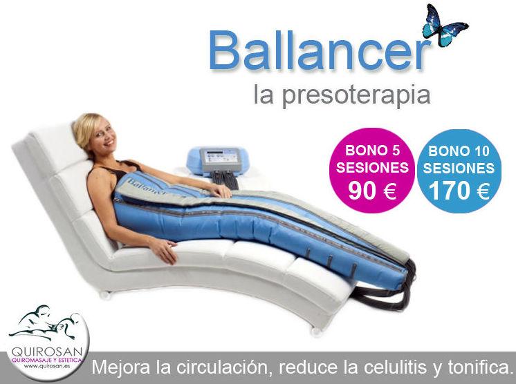 Presoterapia Ballancer, considerada entre las mejores del Mercado !!