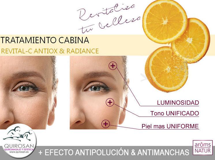 REVITAL-C Antiox & Radiance: Servicios de Quirosan