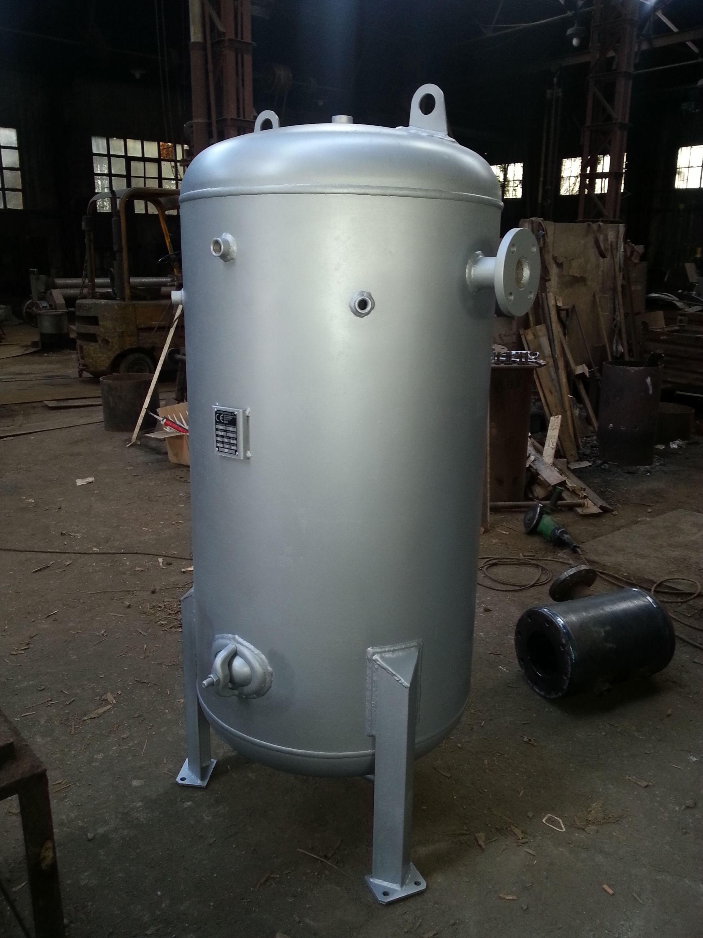 Depósito verical 400 lts aire comprimido