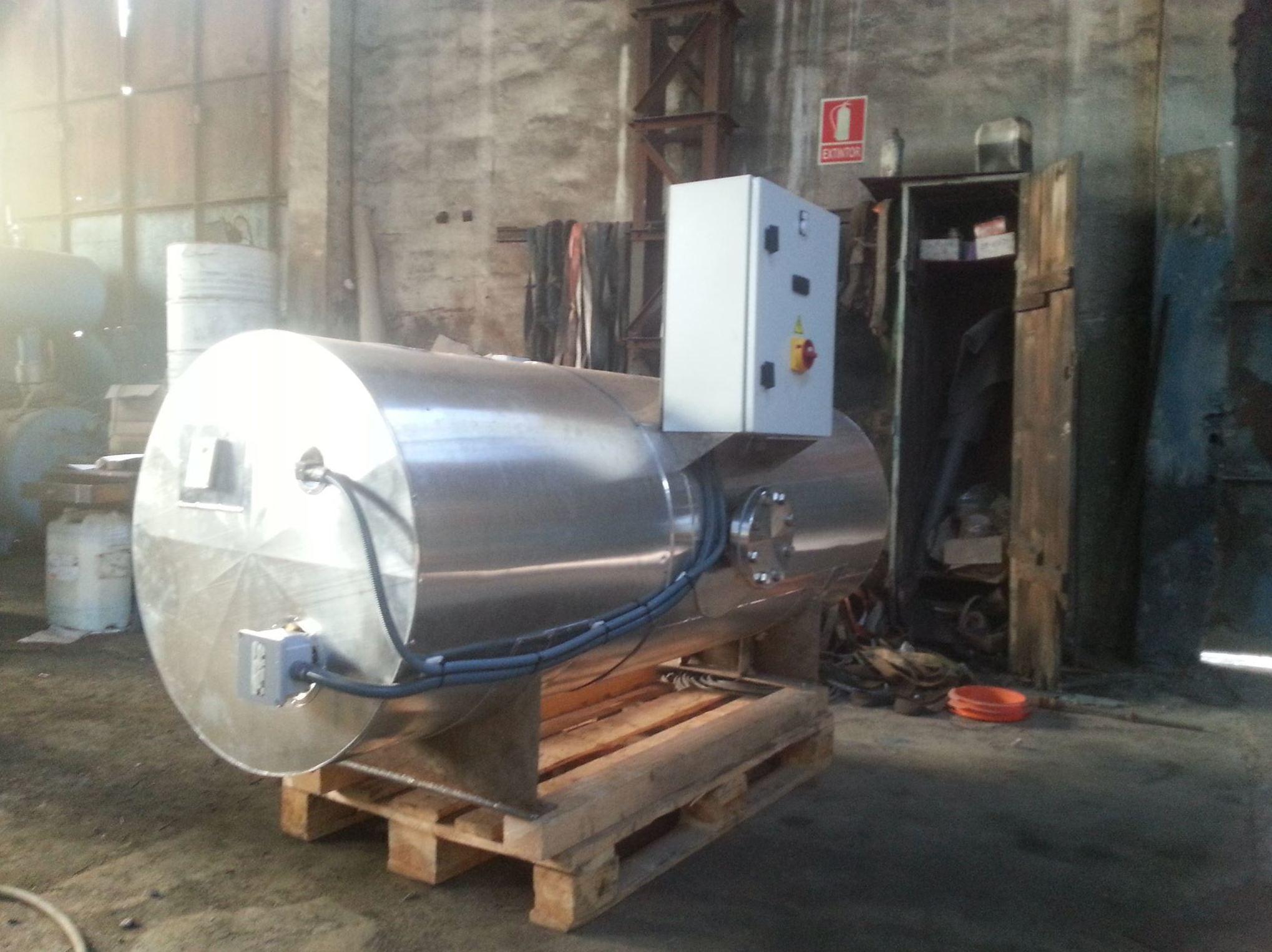 Empresa de depósitos de aire comprimido en Vizcaya