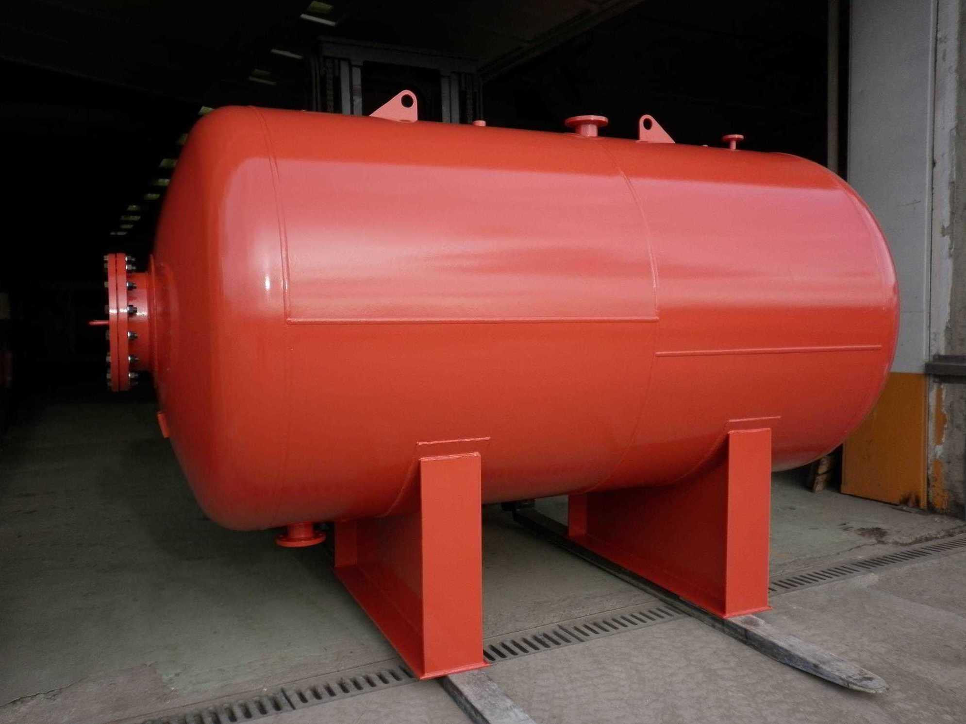 Depósito fabricado para una planta de Iberdrola en Valencia