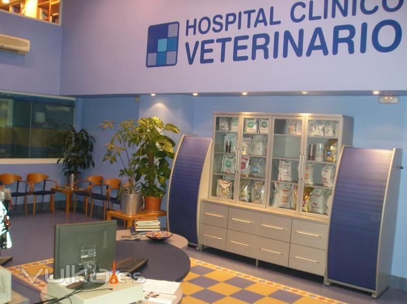 Productos y servicios: Servicios de Hospital Clínico Veterinario
