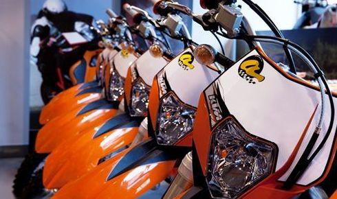 Diversas modalidades de motos