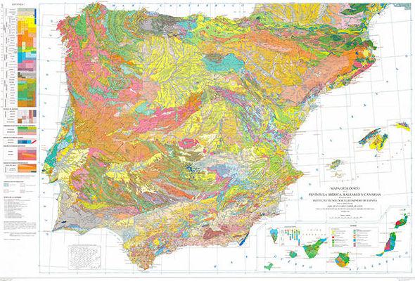 Presentación en Madrid del mapa geológico de España y Portugal