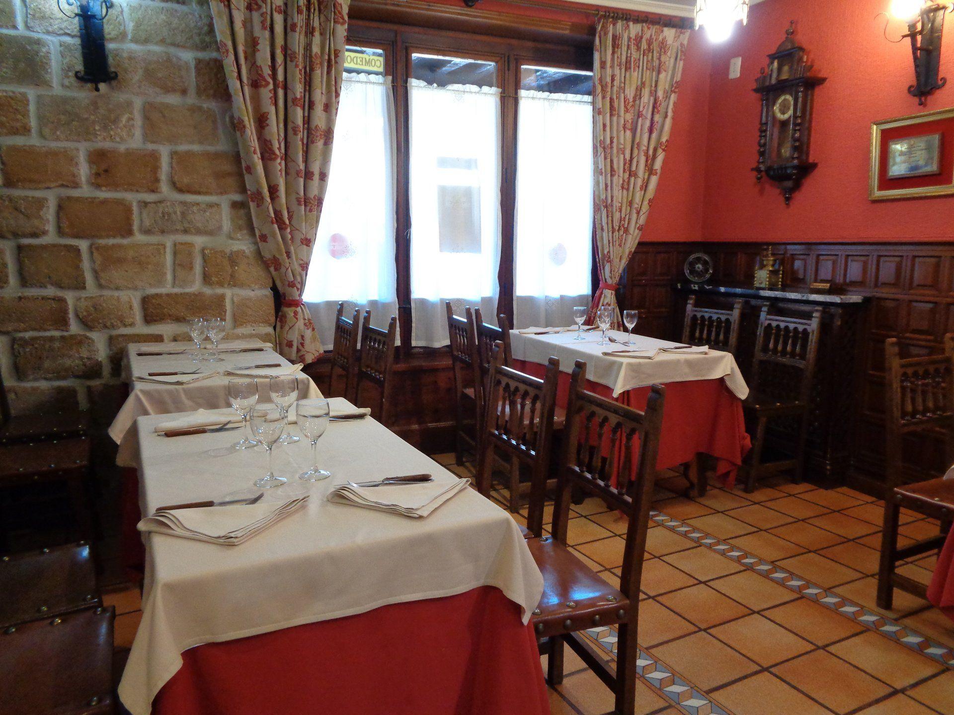 Restaurante para celebraciones en Riaza