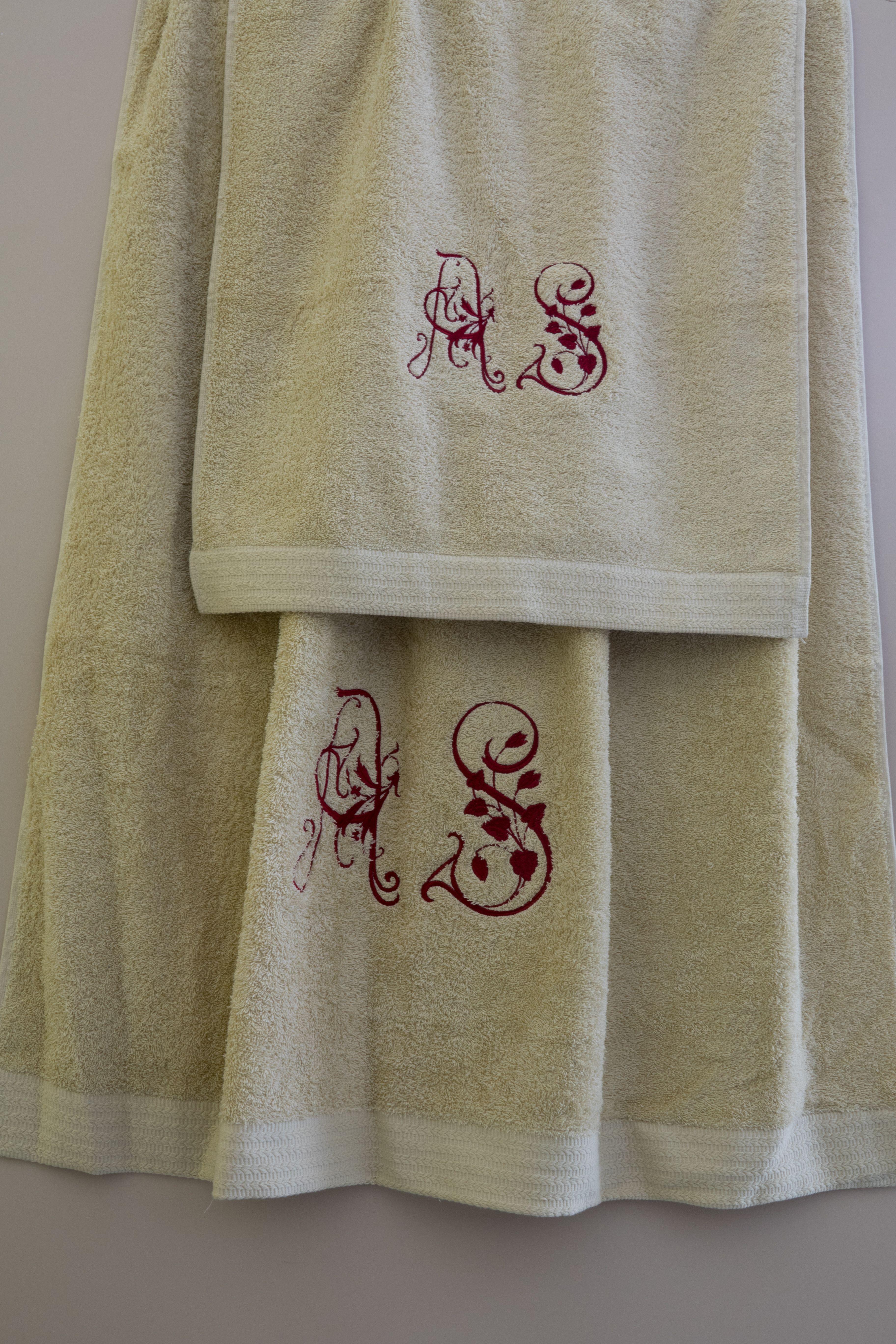Juego de toallas personalizados en Valladolid