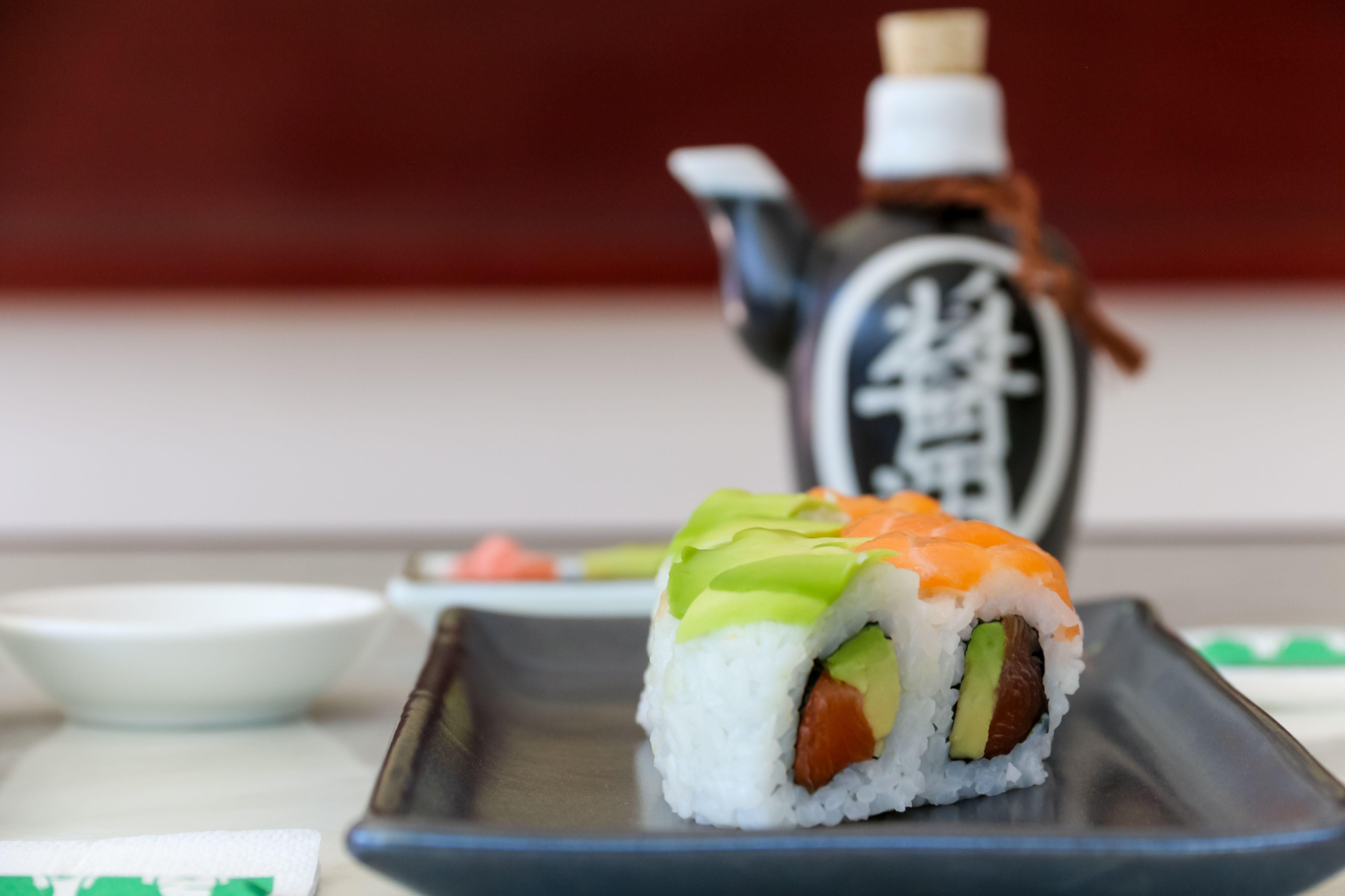 Pedidos de sushi a domicilio en Madrid