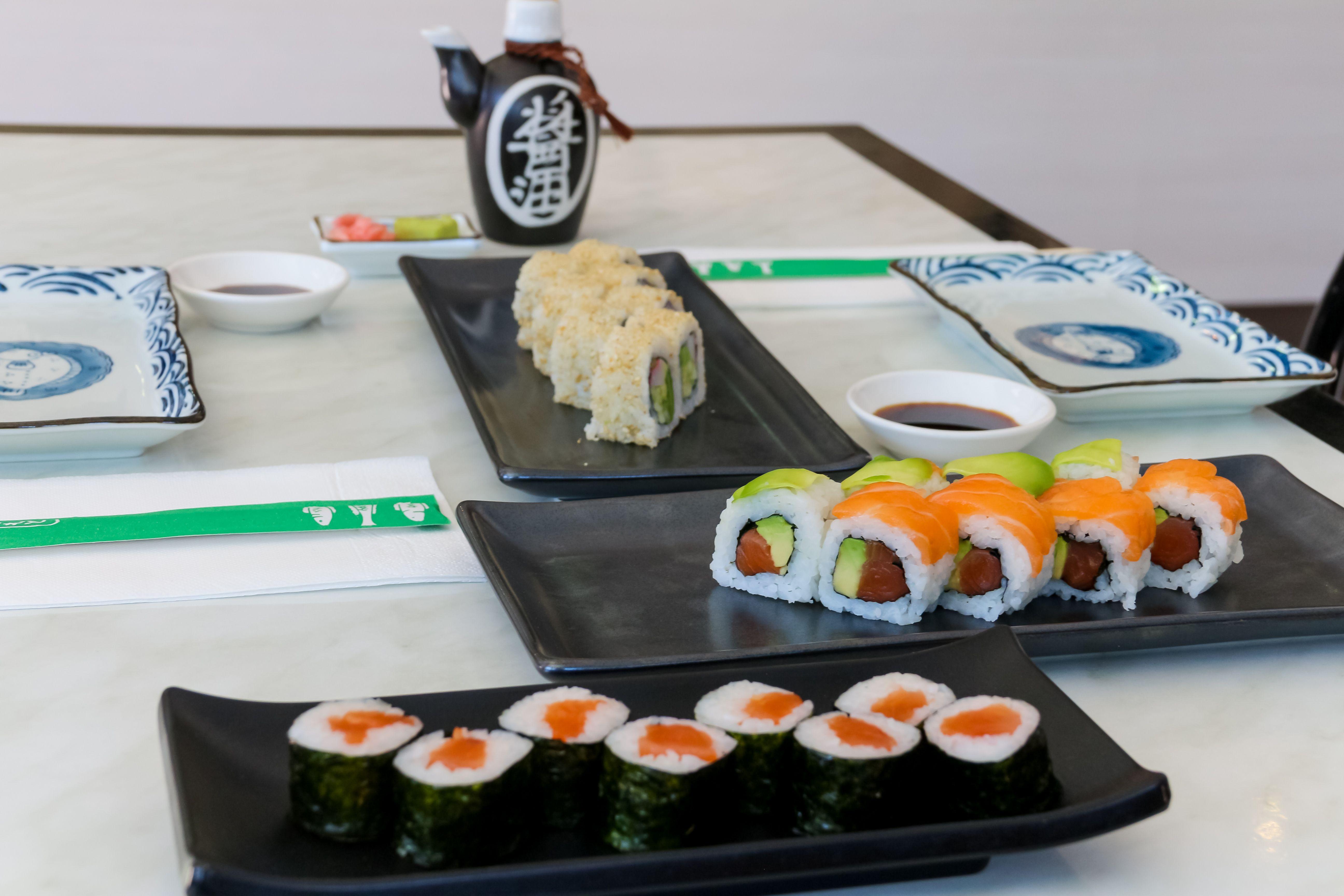 Sushi en Cuatro Vientos, Madrid