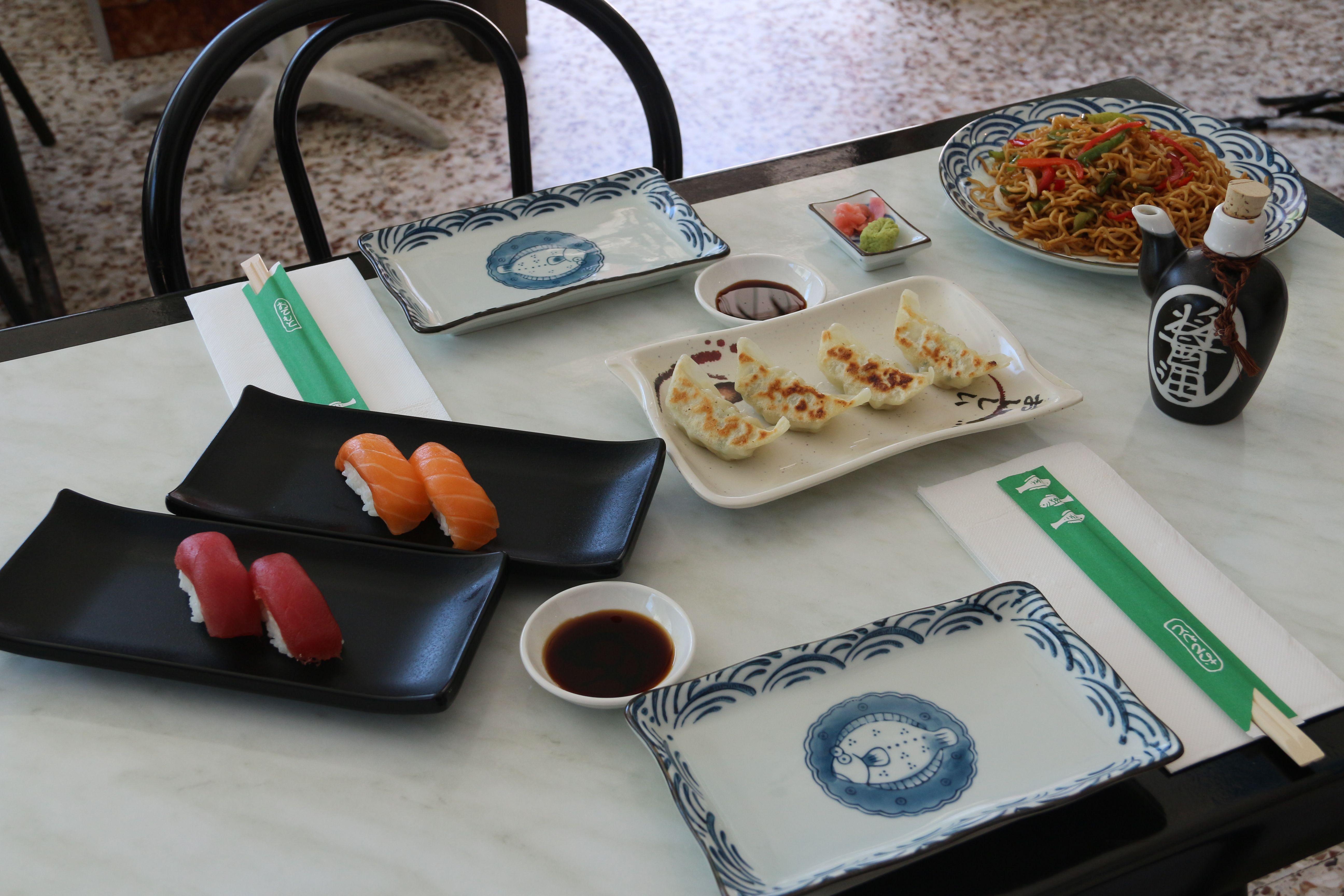 Sushi a domicilio en Aluche, Madrid
