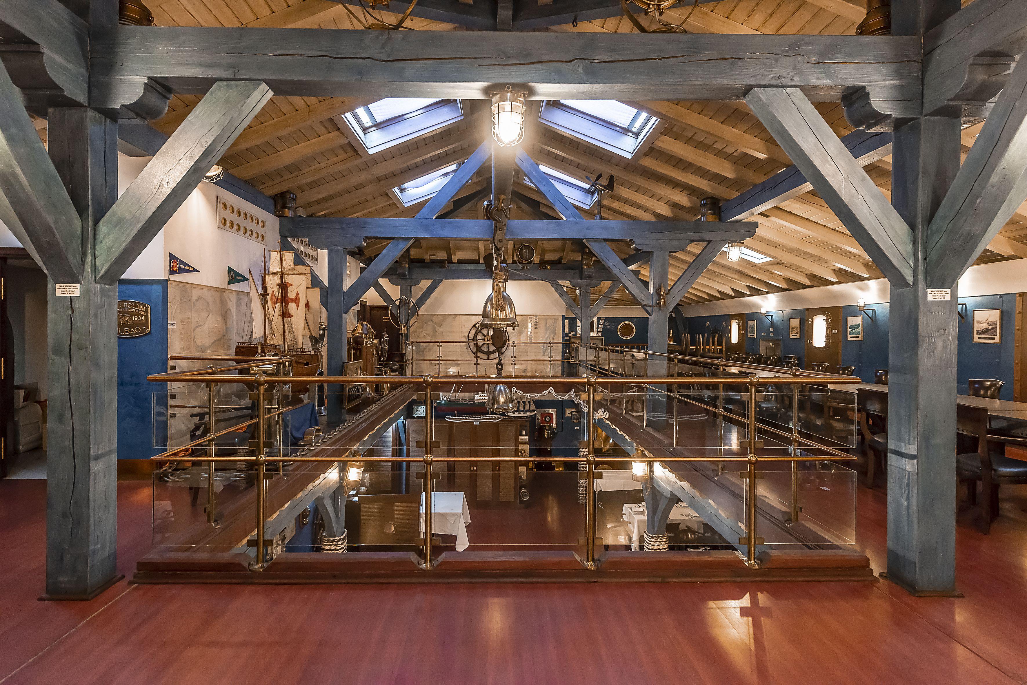 Foto 3 de Restaurante para celebraciones en  | Restaurante Untzigain - Museo el Barco